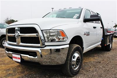 2018 Ram 3500 Crew Cab DRW 4x4,  CM Truck Beds SK Model Flatbed #TG394818 - photo 3