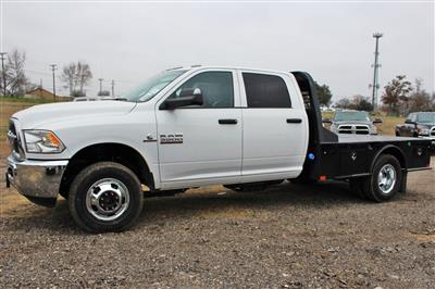 2018 Ram 3500 Crew Cab DRW 4x4,  CM Truck Beds SK Model Flatbed #TG394818 - photo 4