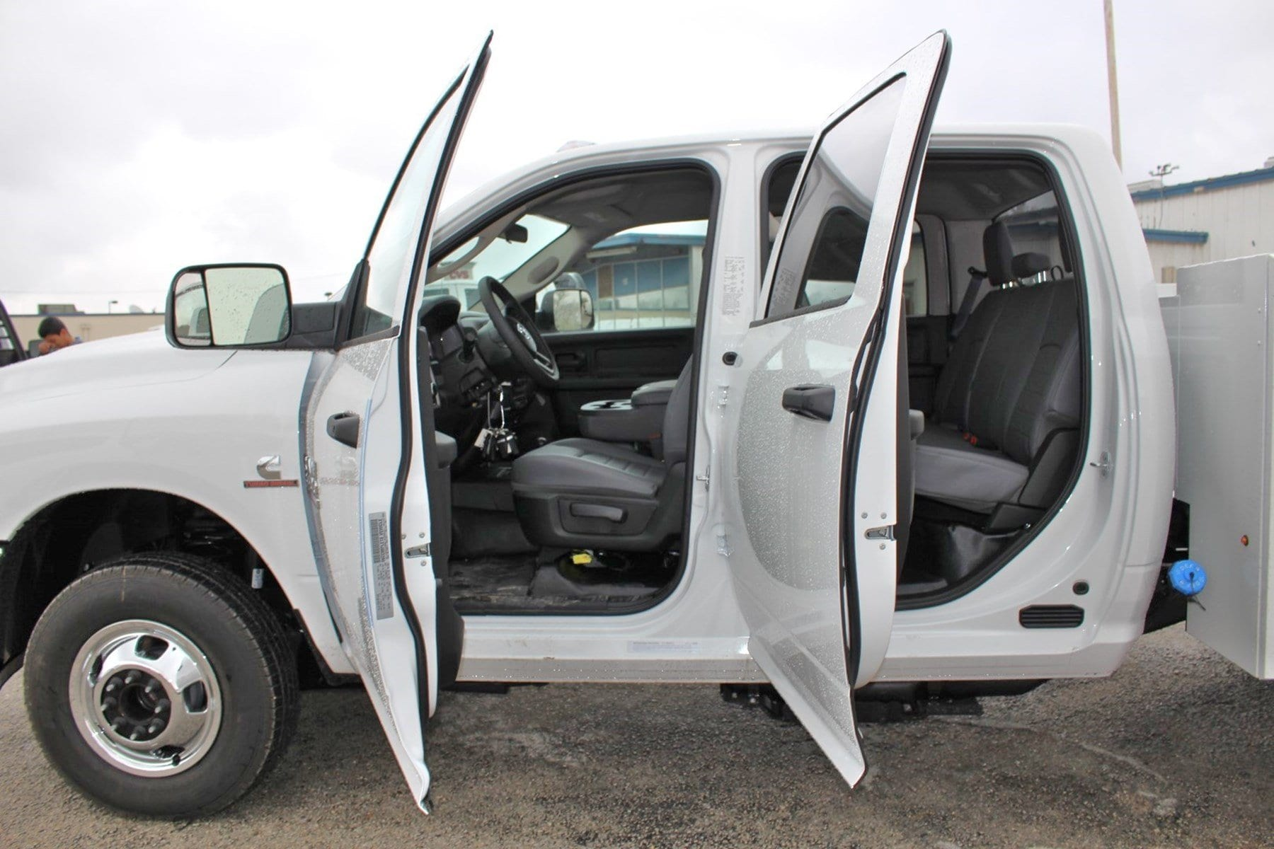 2018 Ram 3500 Crew Cab DRW 4x4,  Stahl Service Body #TG394826 - photo 11