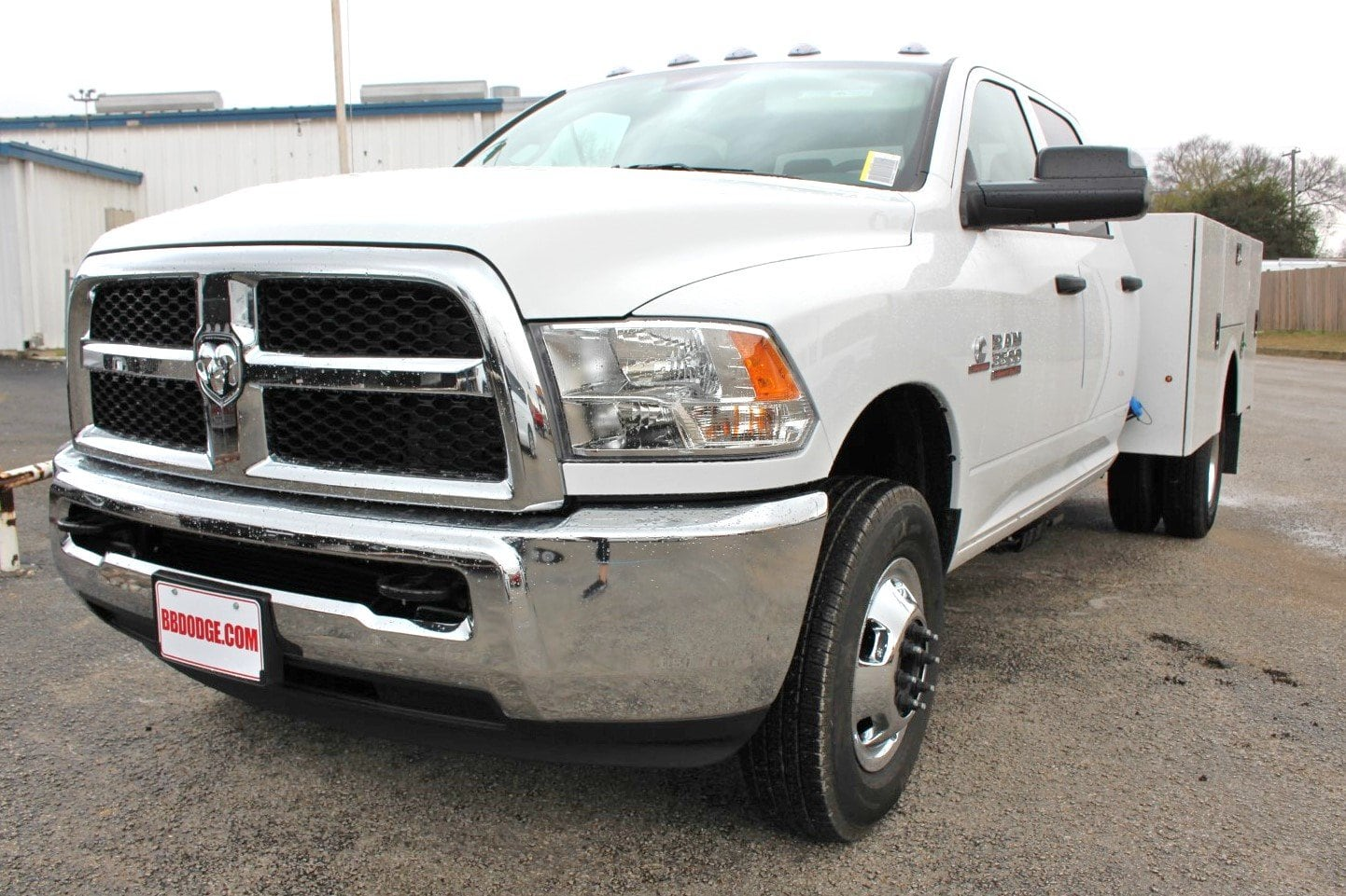 2018 Ram 3500 Crew Cab DRW 4x4,  Stahl Service Body #TG394826 - photo 3