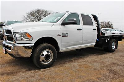 2018 Ram 3500 Crew Cab DRW 4x4,  CM Truck Beds RD Model Flatbed #TG394831 - photo 4