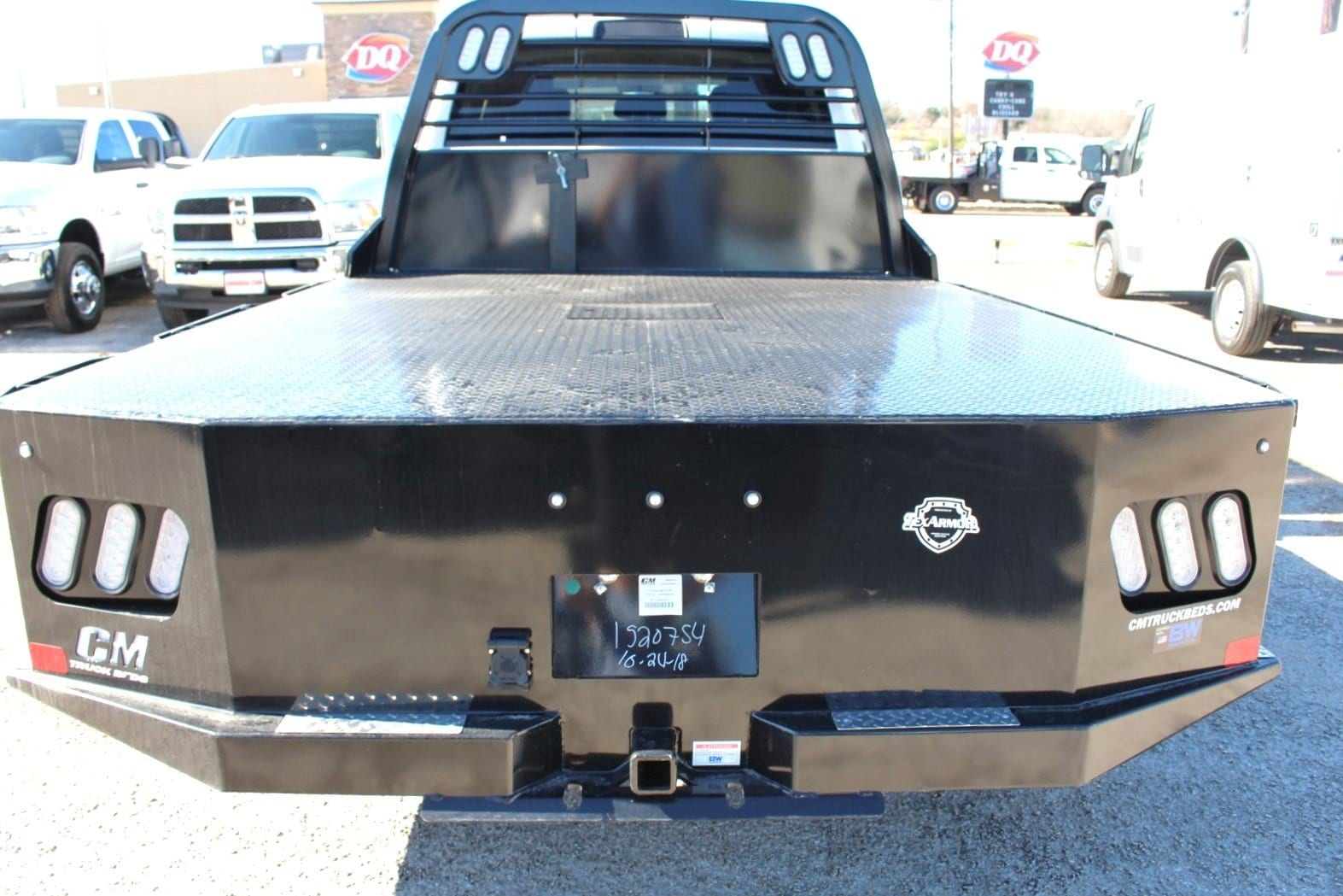 2018 Ram 3500 Crew Cab DRW 4x4,  CM Truck Beds Flatbed #TG401882 - photo 11