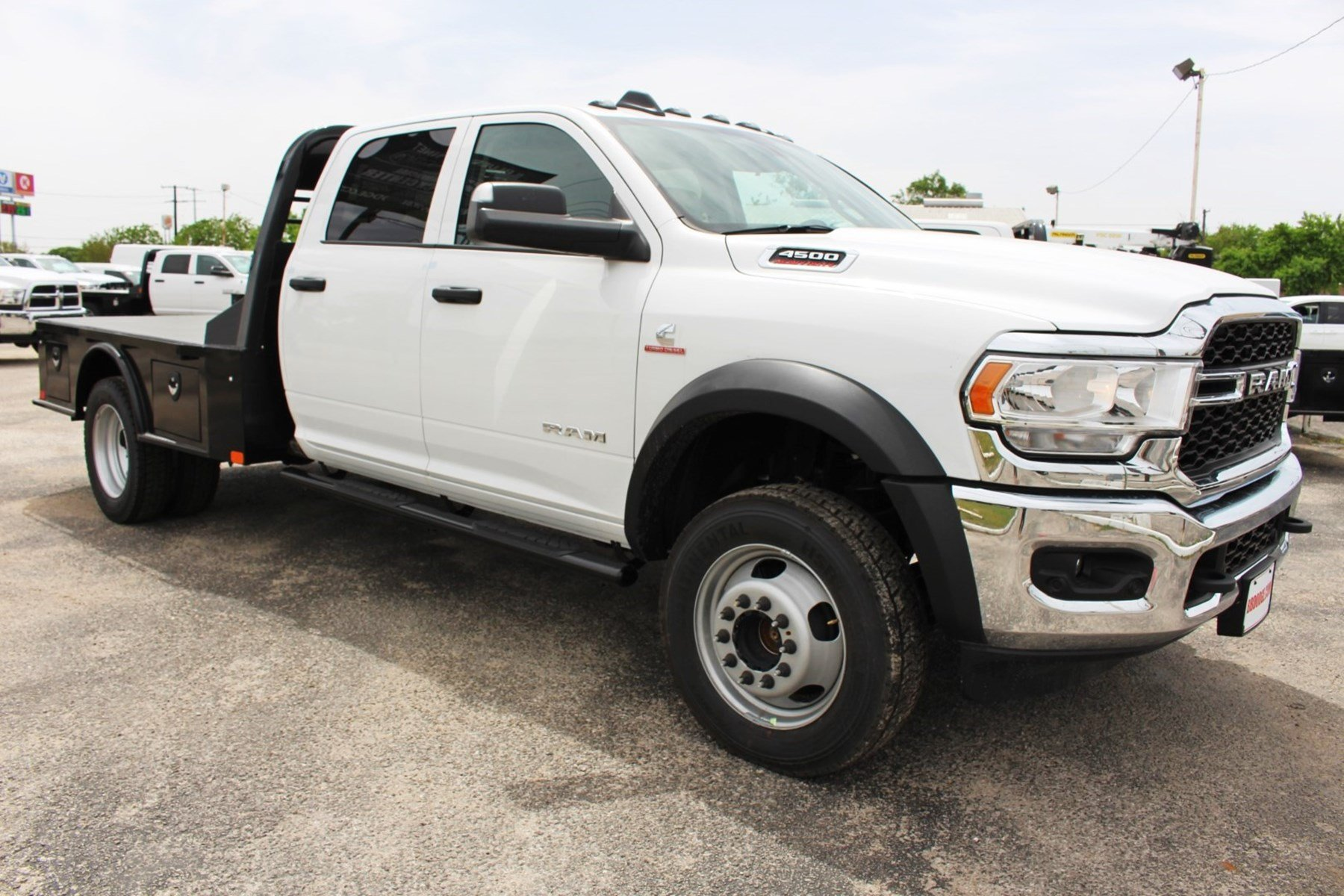 Dodge Ram Truck Bed For Sale >> New 2019 Ram 4500 Flatbed For Sale In New Braunfels Tx Tg522247