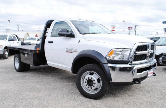 2017 Ram 4500 Regular Cab DRW, CM Truck Beds Flatbed #TG547955 - photo 5