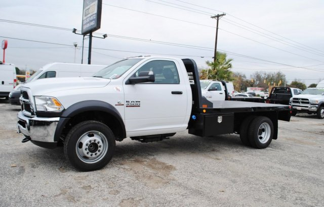 2017 Ram 4500 Regular Cab DRW, CM Truck Beds Flatbed #TG547957 - photo 3