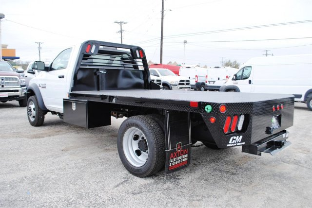 2017 Ram 4500 Regular Cab DRW, CM Truck Beds Flatbed #TG547957 - photo 2