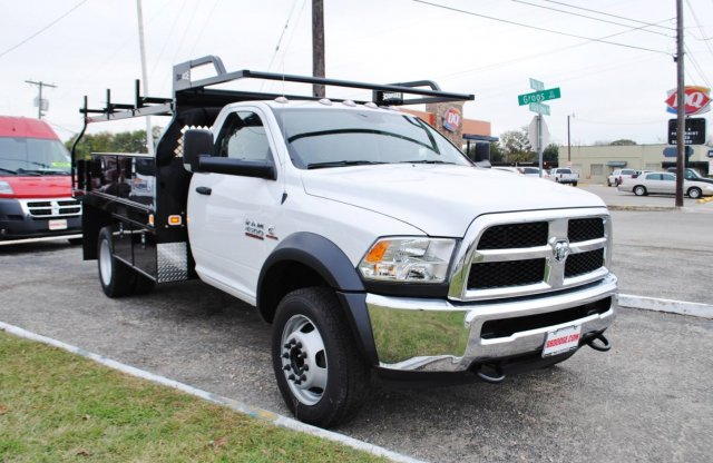 2017 Ram 4500 Regular Cab DRW, Knapheide Contractor Body #TG547958 - photo 5
