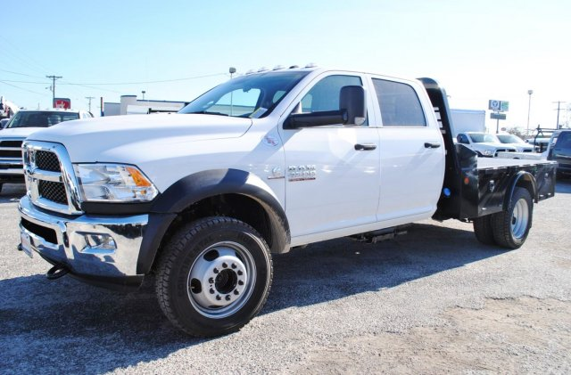 2017 Ram 4500 Crew Cab DRW 4x4, Flatbed #TG548099 - photo 3