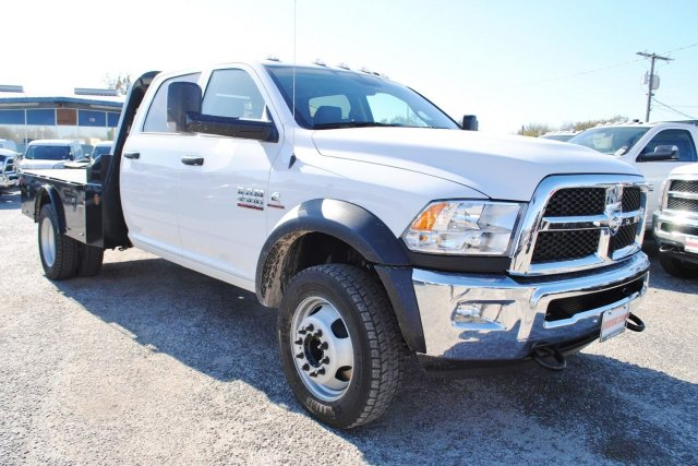 2017 Ram 4500 Crew Cab DRW 4x4, Flatbed #TG548099 - photo 5