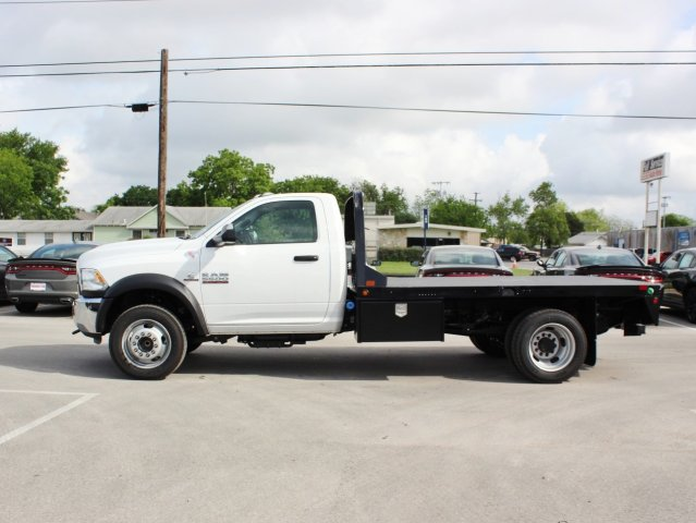 2017 Ram 5500 Regular Cab DRW, CM Truck Beds Flatbed #TG551992 - photo 4
