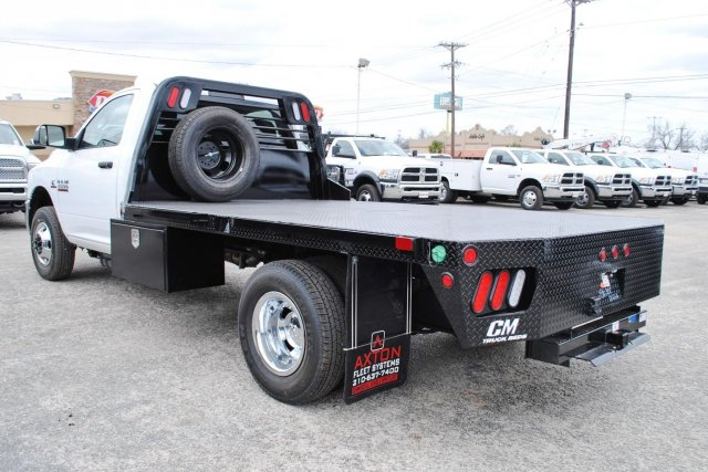 2017 Ram 3500 Regular Cab DRW, CM Truck Beds Flatbed #TG567452 - photo 2