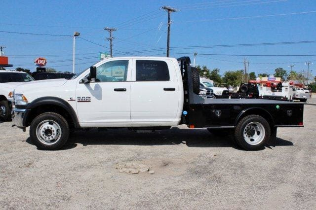 2017 Ram 4500 Crew Cab DRW 4x4,  CM Truck Beds Flatbed #TG591513 - photo 4