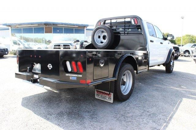 2017 Ram 4500 Crew Cab DRW 4x4,  CM Truck Beds Flatbed #TG591513 - photo 2