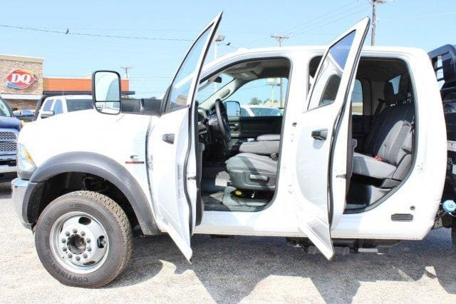 2017 Ram 4500 Crew Cab DRW 4x4, Flatbed #TG591513 - photo 13