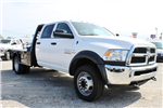 2017 Ram 4500 Crew Cab DRW 4x4, Flatbed #TG591513 - photo 1