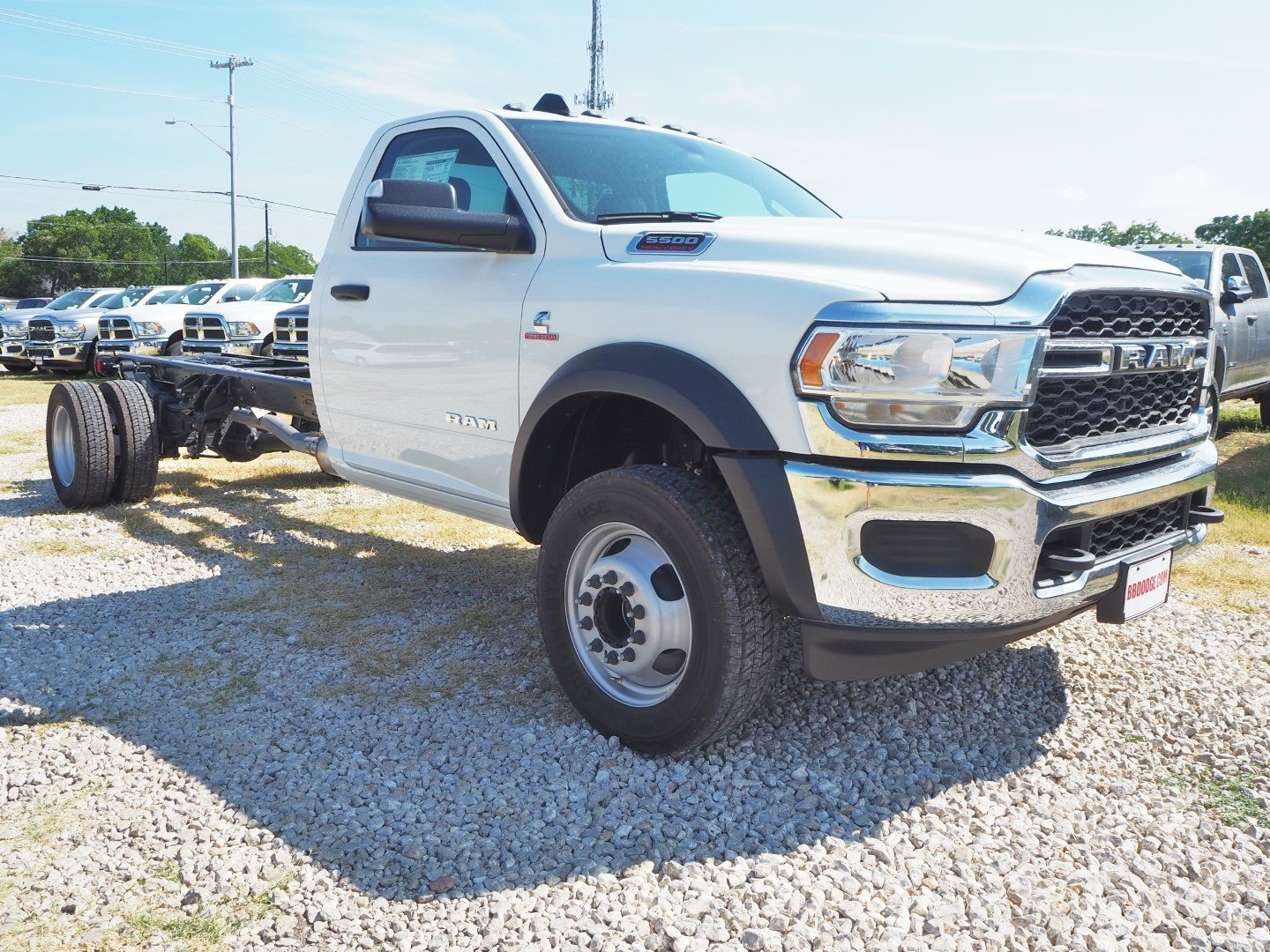 2019 Ram 5500 Regular Cab DRW 4x2, Cab Chassis #TG599855 - photo 1
