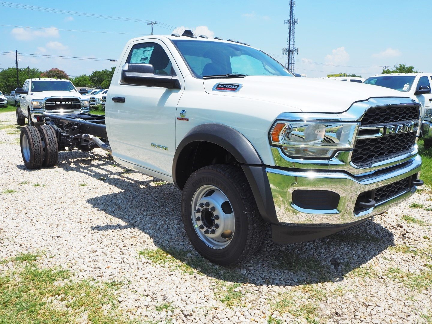 2019 Ram 5500 Regular Cab DRW 4x2, Cab Chassis #TG599856 - photo 1