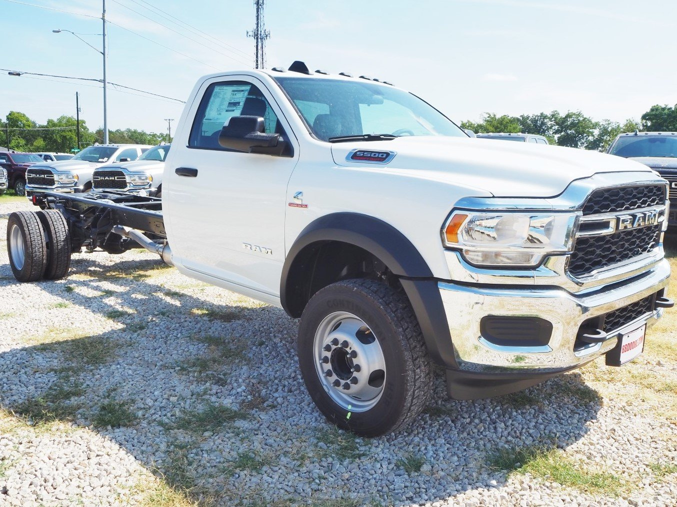 2019 Ram 5500 Regular Cab DRW 4x2, Cab Chassis #TG599860 - photo 1