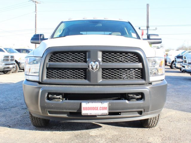 2017 Ram 3500 Crew Cab DRW 4x4, CM Truck Beds Flatbed #TG619973 - photo 3