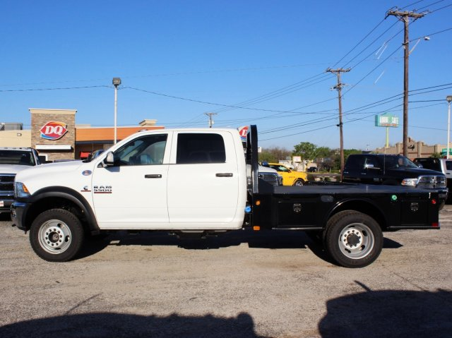 2017 Ram 5500 Crew Cab DRW 4x4, CM Truck Beds Flatbed #TG640086 - photo 4