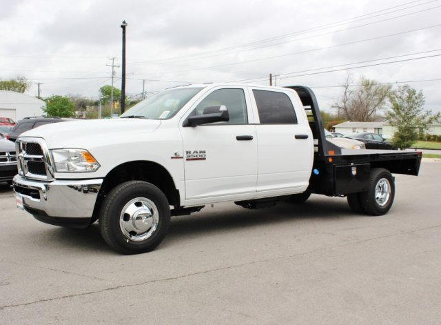 2017 Ram 3500 Crew Cab DRW, CM Truck Beds Flatbed #TG641730 - photo 4