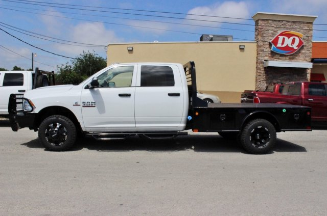 2017 Ram 3500 Crew Cab DRW 4x4, CM Truck Beds Flatbed #TG641808 - photo 4