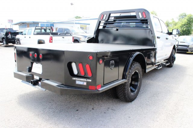 2017 Ram 3500 Crew Cab DRW 4x4, CM Truck Beds Flatbed #TG641808 - photo 2