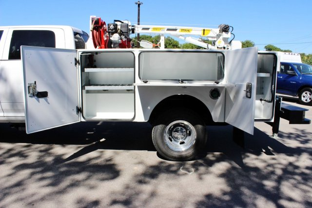 2017 Ram 3500 Crew Cab DRW 4x4, Stahl Service Body #TG651731 - photo 12