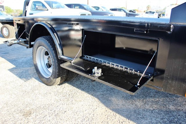 2017 Ram 5500 Crew Cab DRW 4x4, CM Truck Beds Flatbed #TG653618 - photo 12