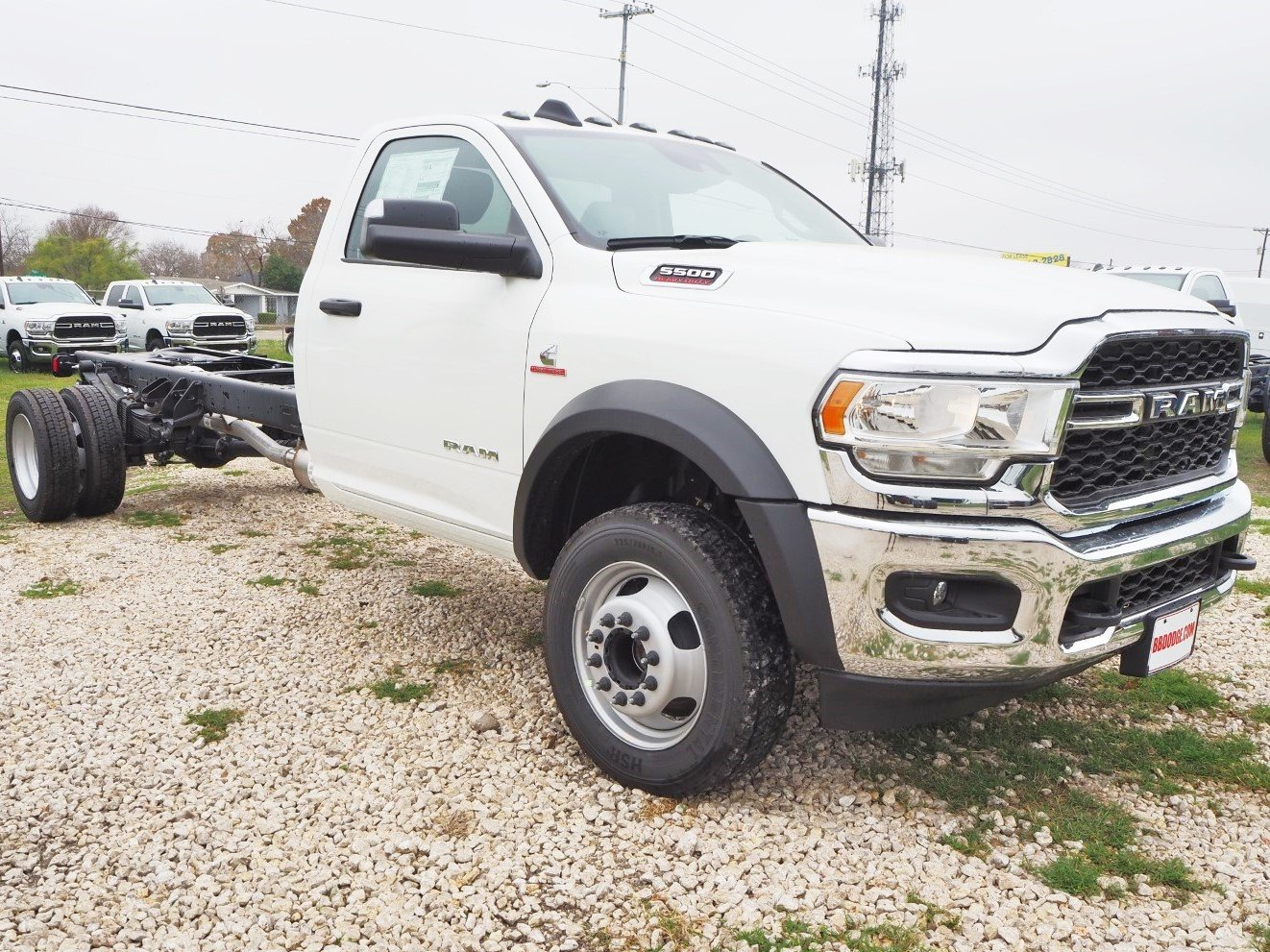2019 Ram 5500 Regular Cab DRW 4x2, Cab Chassis #TG672956 - photo 1