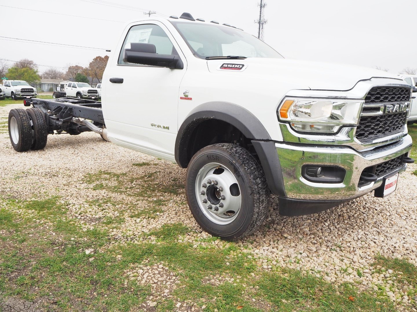 2019 Ram 5500 Regular Cab DRW 4x2, Cab Chassis #TG672959 - photo 1