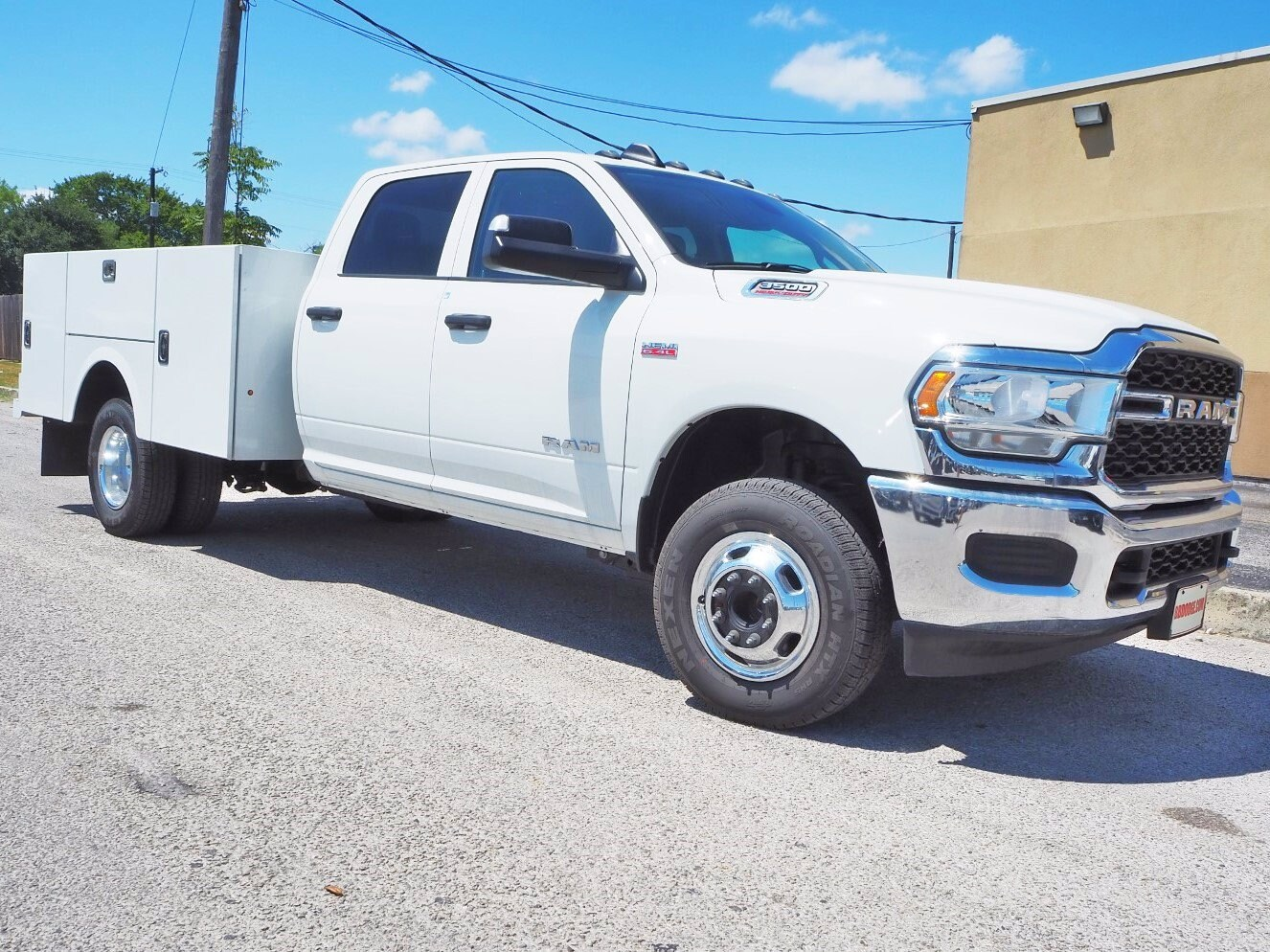2019 Ram 3500 Crew Cab DRW 4x4, Stahl Service Body #TG690869 - photo 1