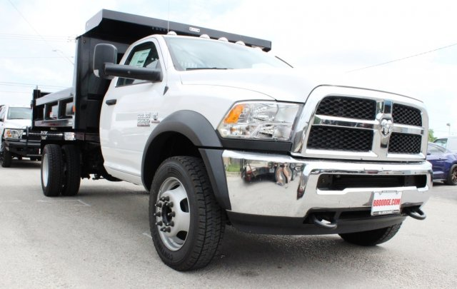 2017 Ram 5500 Regular Cab DRW 4x4, Dump Body #TG695538 - photo 5