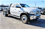 2017 Ram 5500 Crew Cab DRW 4x4, Flatbed #TG716717 - photo 1