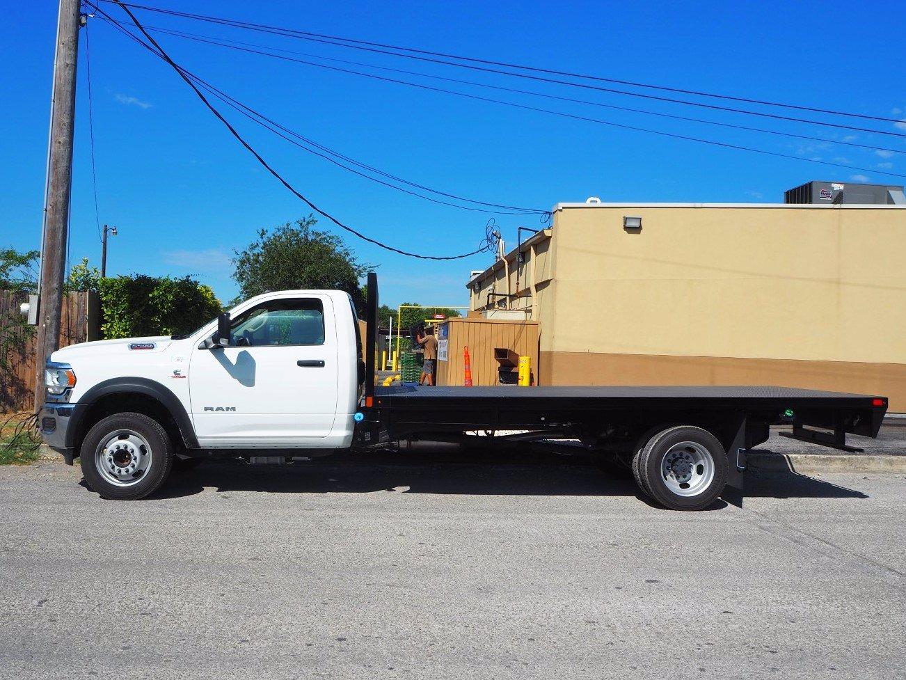 2019 Ram 5500 Regular Cab DRW 4x2, Axton Truck Equipment Flatbed #TG717489 - photo 13