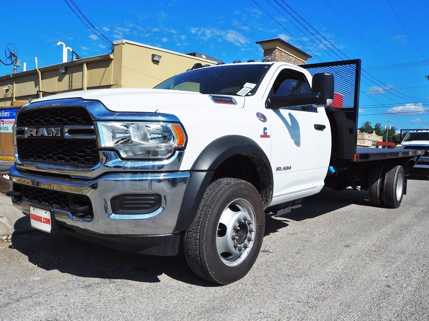 2019 Ram 5500 Regular Cab DRW 4x2, Axton Truck Equipment Flatbed #TG717489 - photo 15