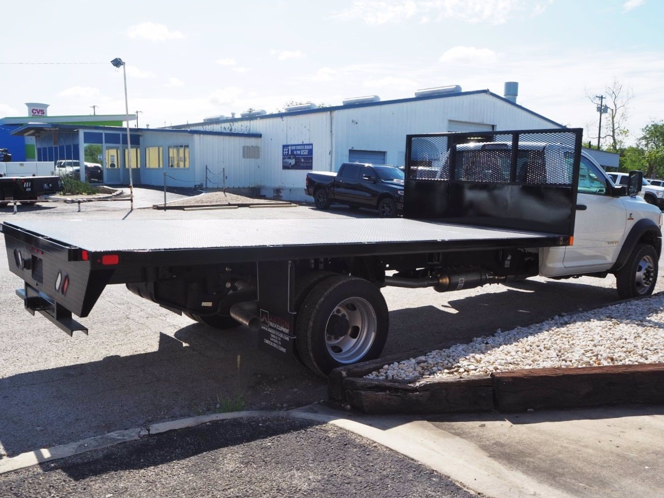2019 Ram 5500 Regular Cab DRW 4x2, Axton Truck Equipment Flatbed #TG717489 - photo 1