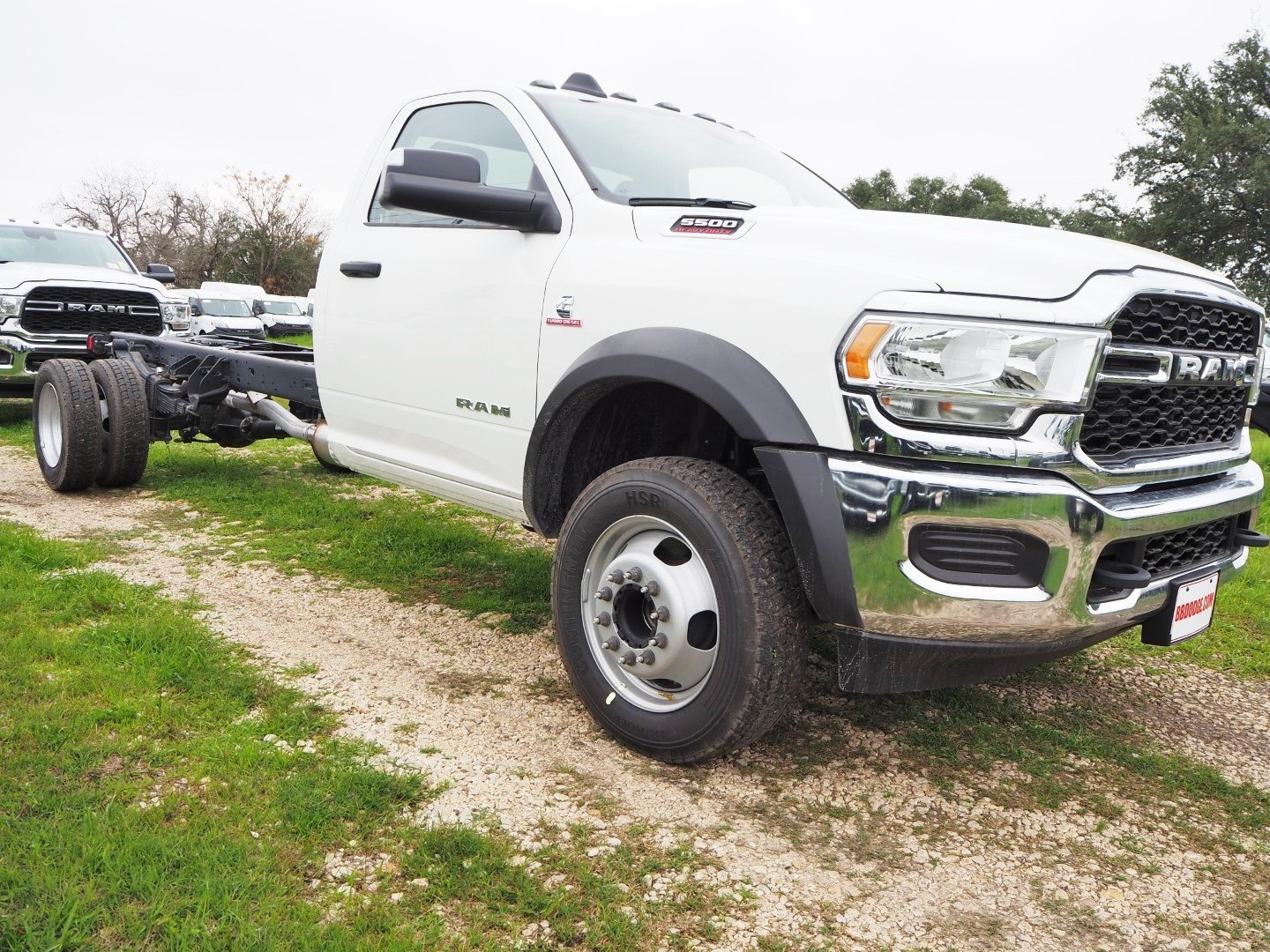2019 Ram 5500 Regular Cab DRW 4x2, Cab Chassis #TG717494 - photo 1