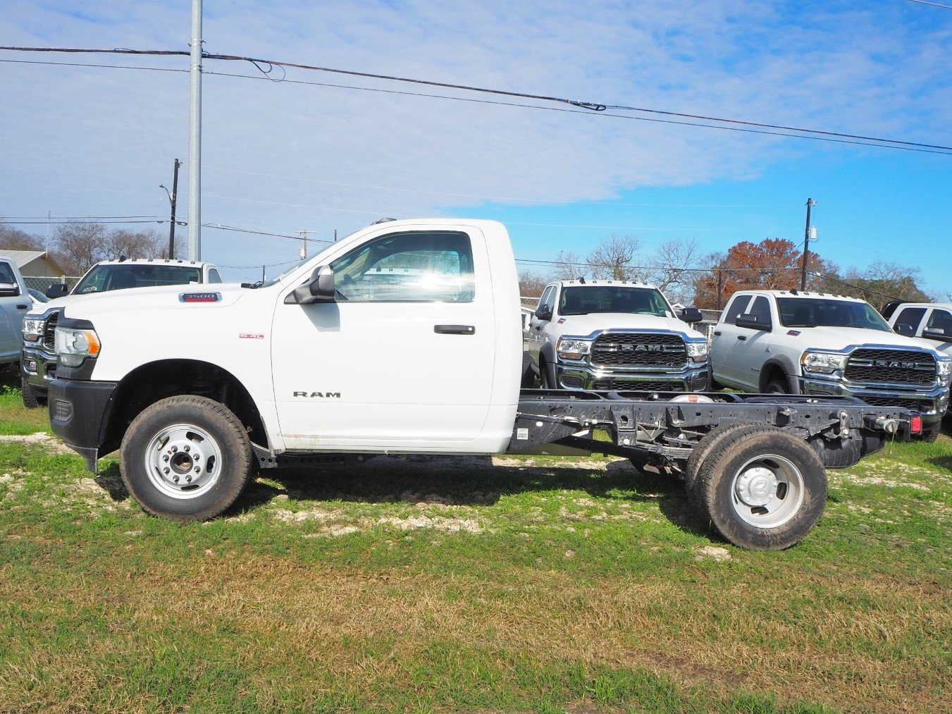 2019 Ram 3500 Regular Cab DRW 4x2, Cab Chassis #TG720381 - photo 1
