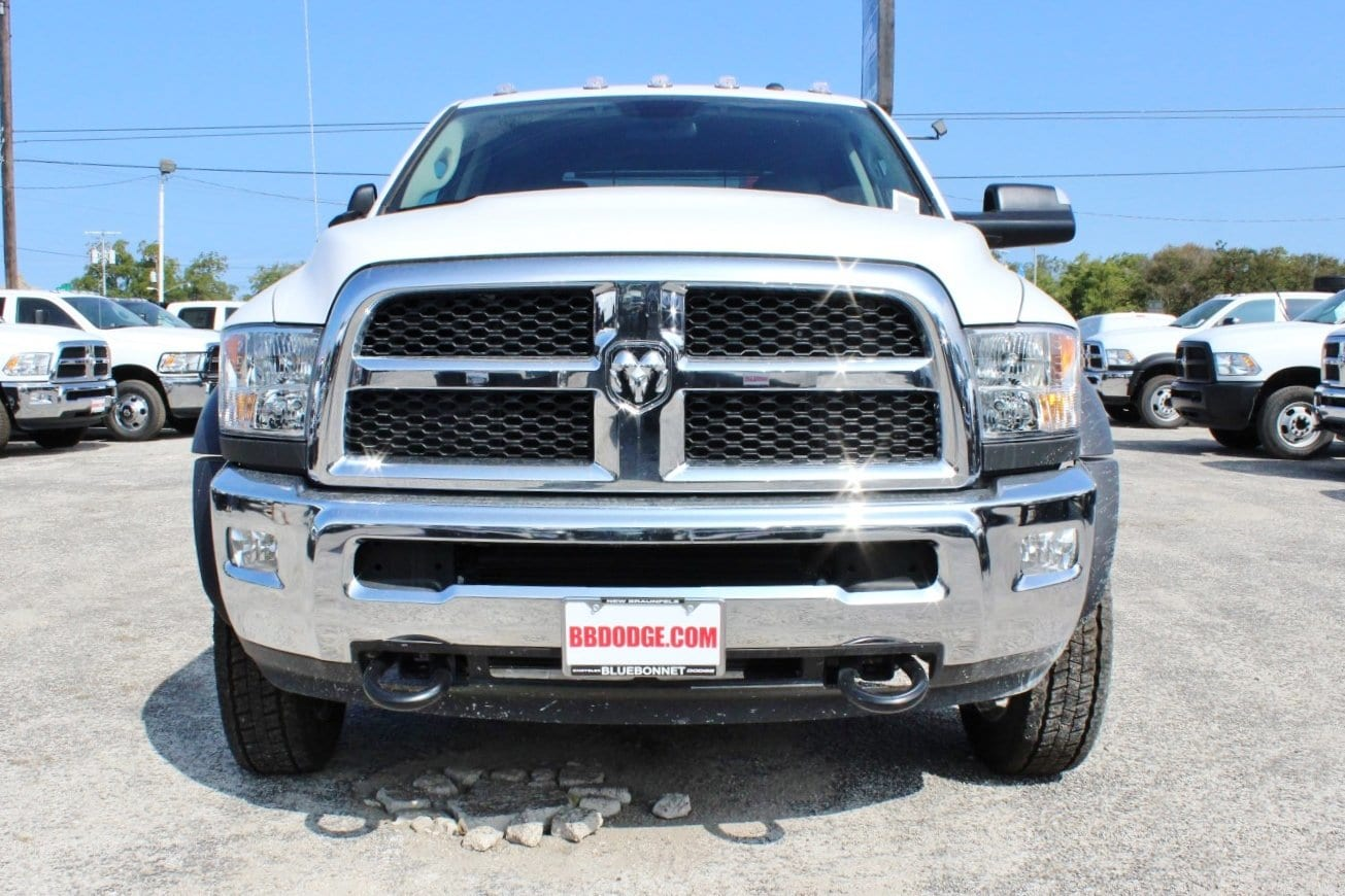 2017 Ram 4500 Crew Cab DRW 4x4, Flatbed #TG734236 - photo 5