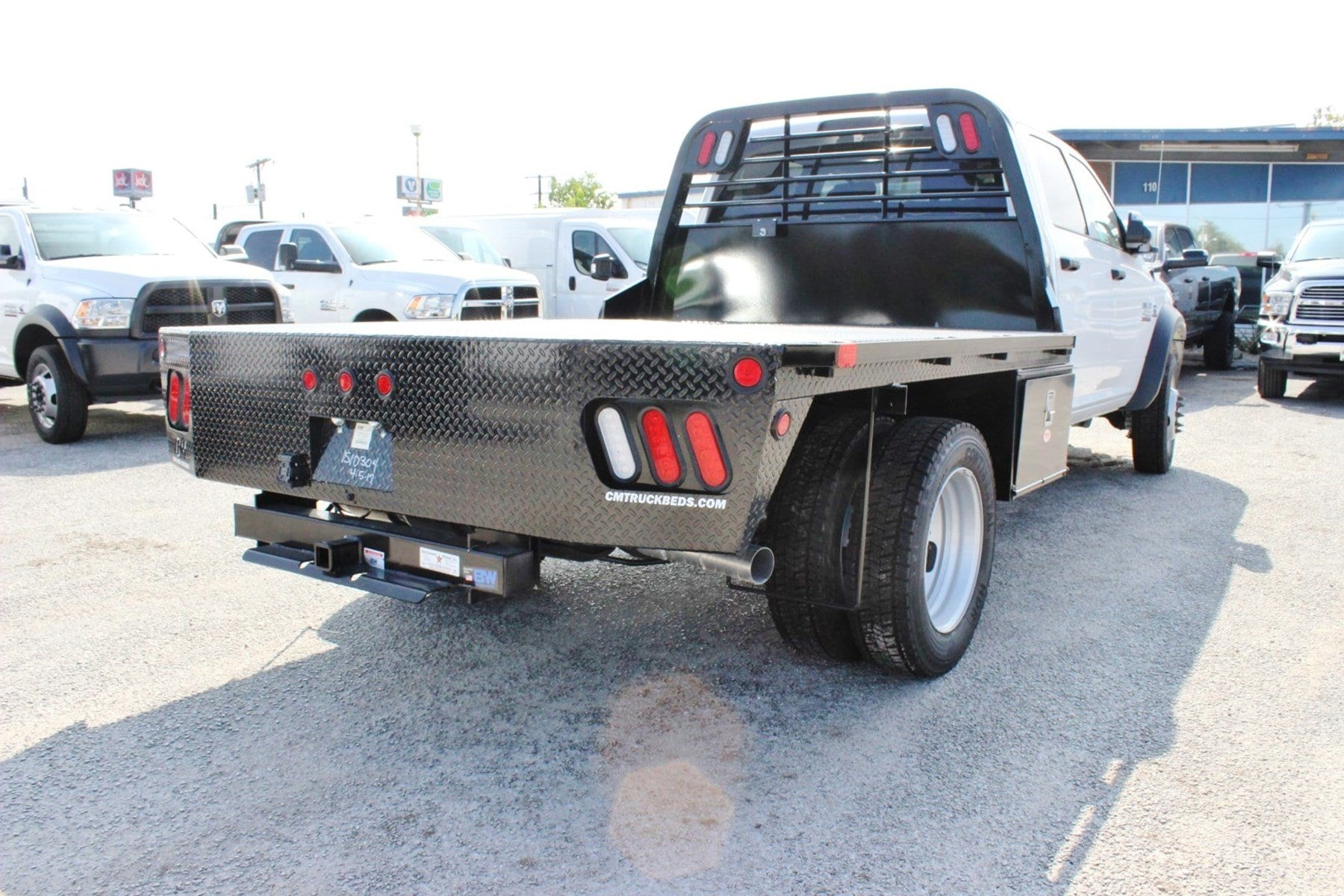 2017 Ram 4500 Crew Cab DRW 4x4, Flatbed #TG734236 - photo 2