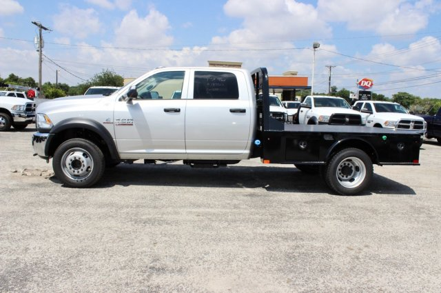 2017 Ram 4500 Crew Cab DRW 4x4, Flatbed #TG738163 - photo 4