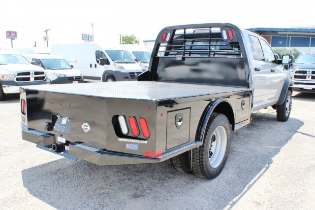 2017 Ram 4500 Crew Cab DRW 4x4, Flatbed #TG738163 - photo 2