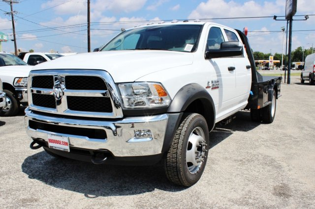 2017 Ram 4500 Crew Cab DRW 4x4, Flatbed #TG741922 - photo 3