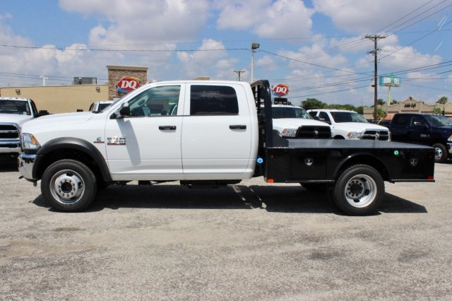 2017 Ram 4500 Crew Cab DRW 4x4, Flatbed #TG741922 - photo 4
