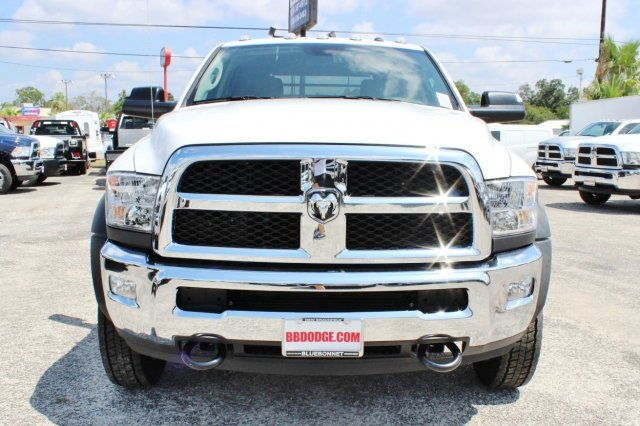 2017 Ram 4500 Crew Cab DRW 4x4, Flatbed #TG741922 - photo 5