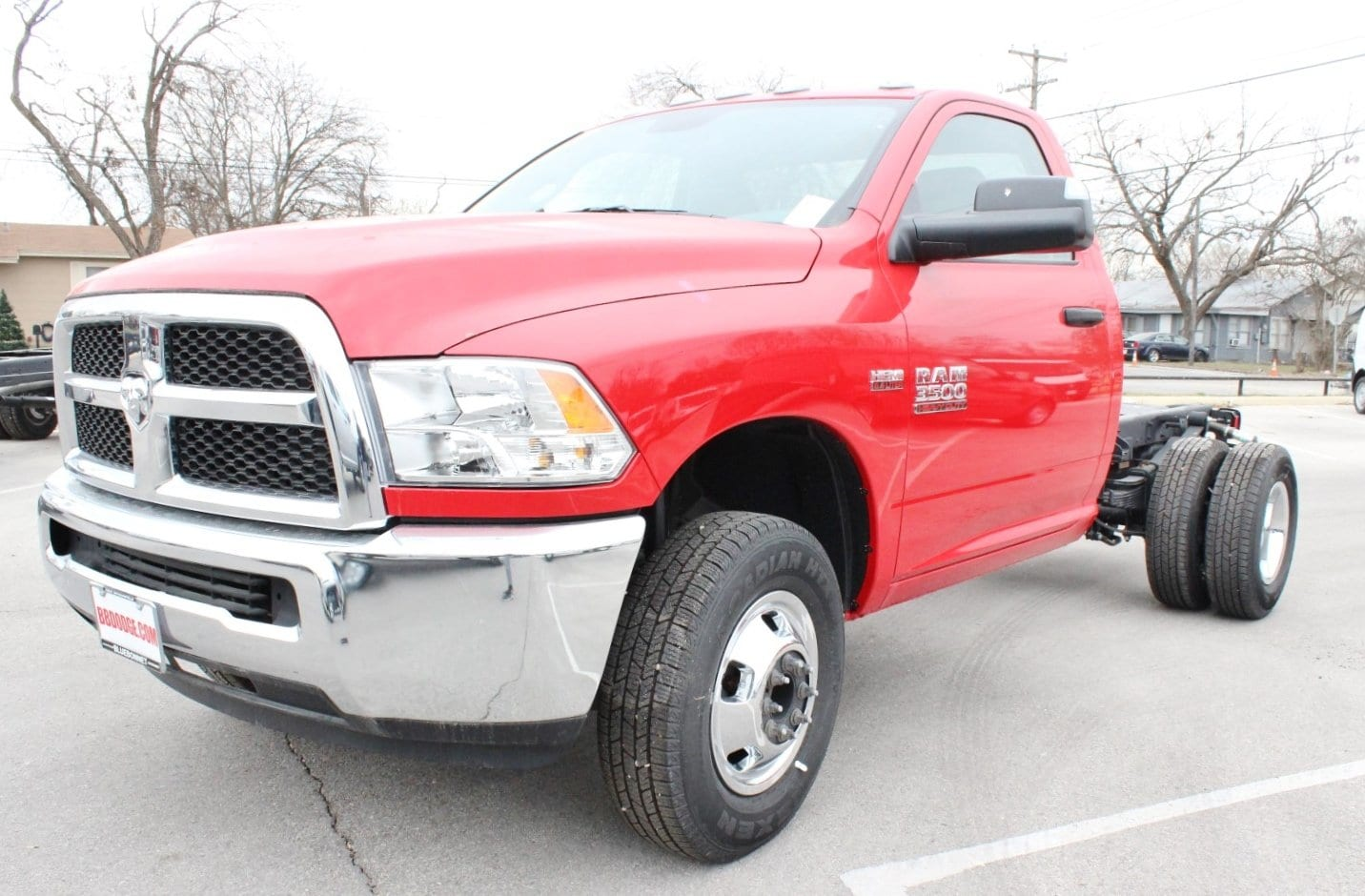 2017 Ram 3500 Regular Cab DRW Cab Chassis #TG758755 - photo 3