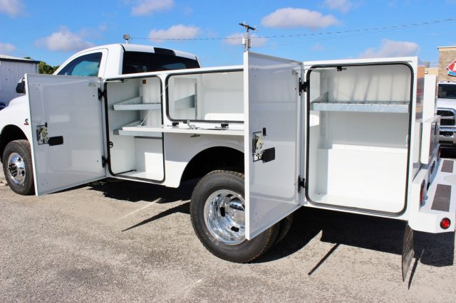 2017 Ram 3500 Regular Cab DRW 4x4, Stahl Service Body #TG758853 - photo 12