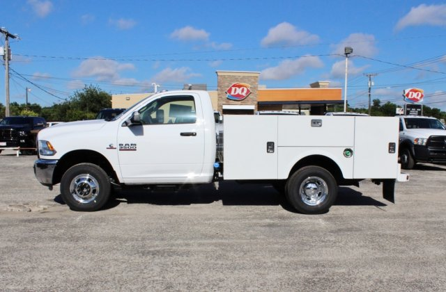 2017 Ram 3500 Regular Cab DRW 4x4, Stahl Service Body #TG758853 - photo 3