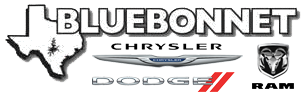 Bluebonnet Chrysler Dodge RAM logo